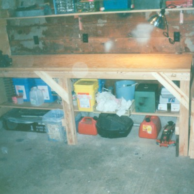 Workbench Shelf